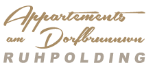 Appartements am Dorfbrunnen Ruhpolding Logo